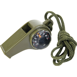 3 IN 1 WHISTLE COMPASS THERMOMETER CAMPING FISHING R571