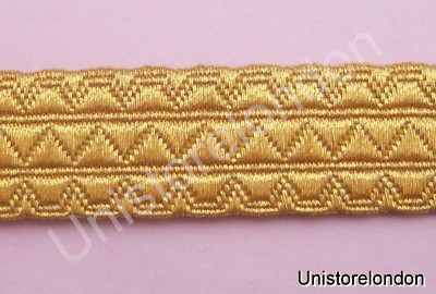 Braid Gold Mylar Mossonic lace 15mm R634