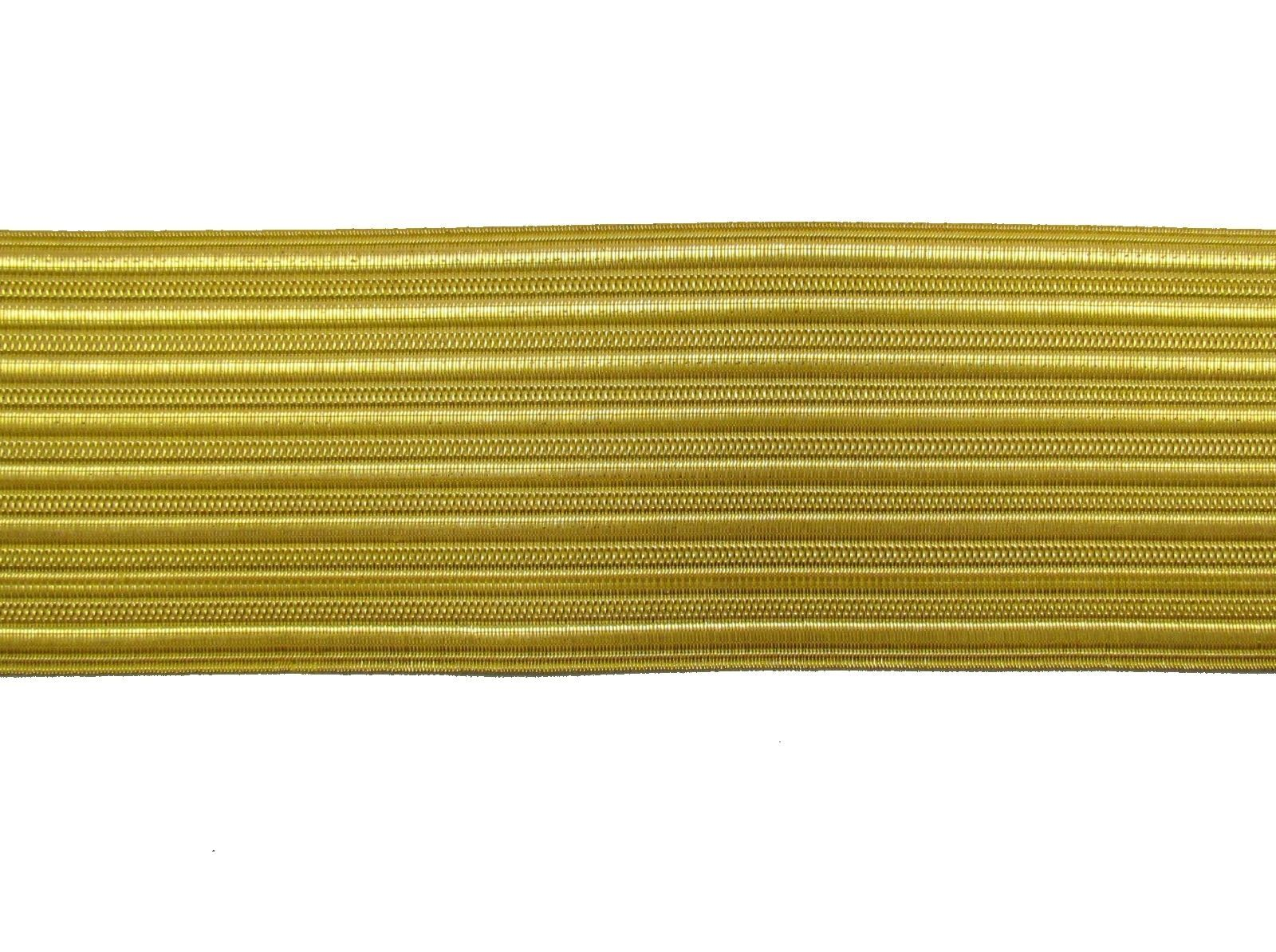 Wire Lace   Braid Gold Wire Lace 50 Mm Sold By Meter R0022