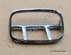 Buckle Sam Browne 2Prong Buckle Chrome for 57mm Wide Belt R1082