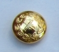 Button General Staff Military Army Gold 14mm Single R698 (1Pc)