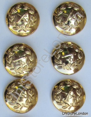 Button General Staff Military Army Gold 19mm  R750