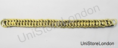 Chinstrap Chin Chain Gold 11.5 Inch Long R1048