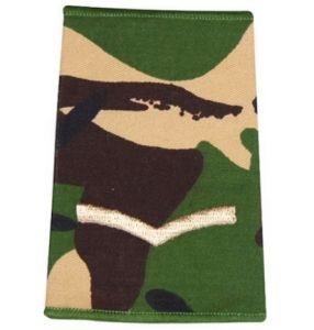 Epaulette Camo DPM 1 Bar Rank Slide Army Military Lance-Corporal R1068