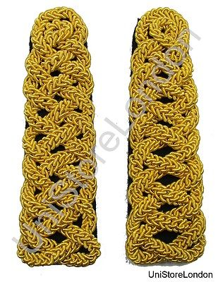 Gold Shoulder Cord Chain Gimp Uniform Cord Shoulder Board R1481