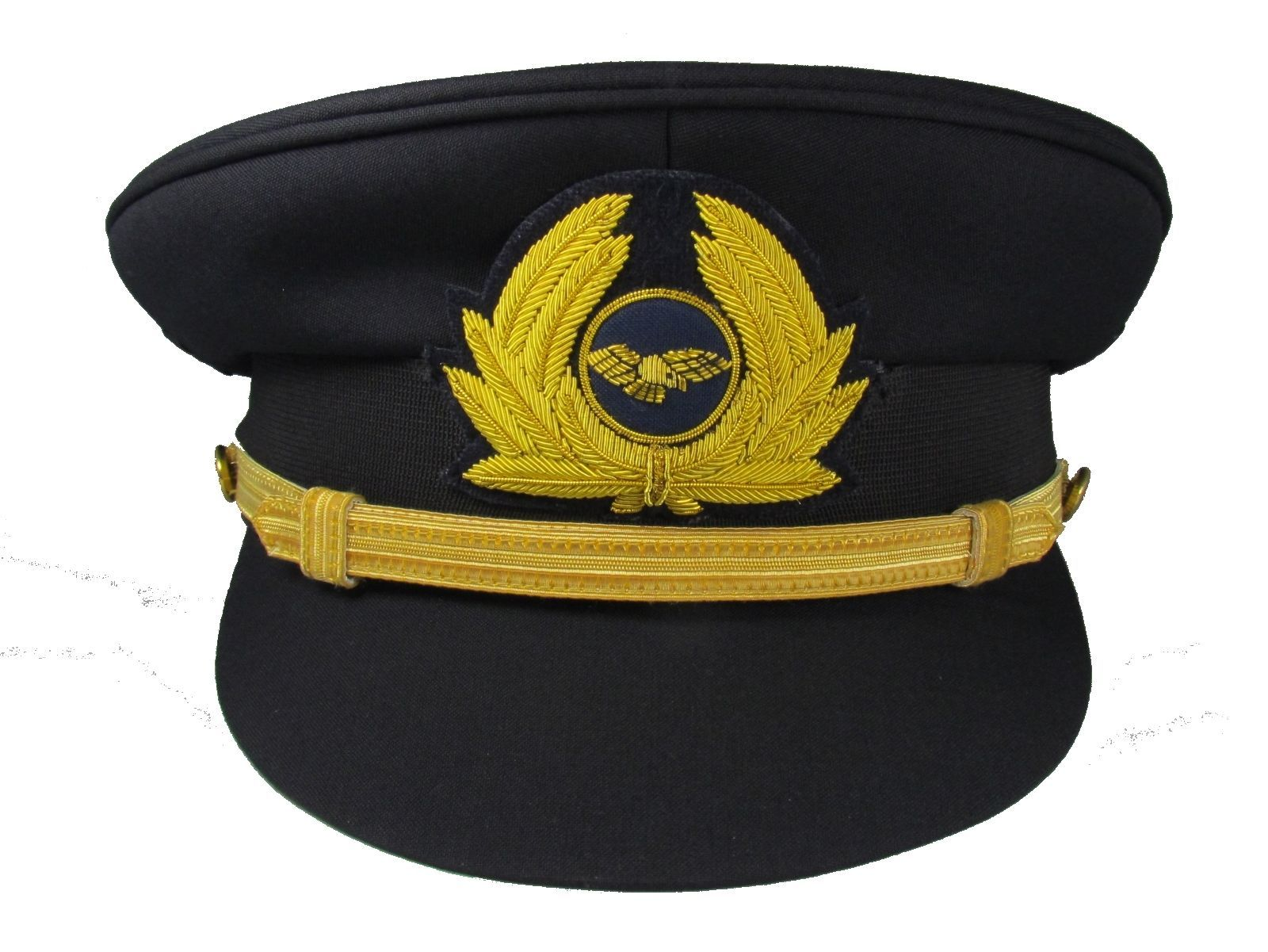 Pilot Cap with Generic Cap Badge Navy Blue Airline Cap R1744 47bb32ae76f