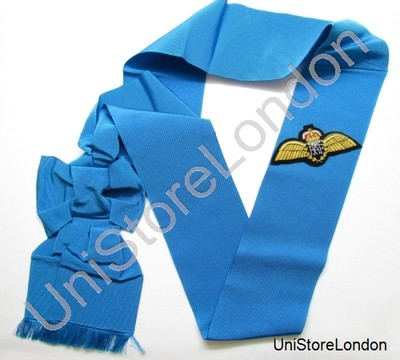 Sash Garter Shoulder Sash Jubilee Light Blue With RAF Wings R845
