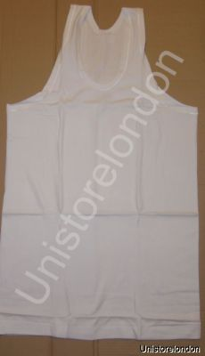 Vest Mens Light Weight 100% Cotton Sleeveless Vest R543